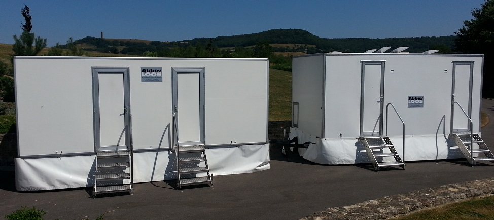 Luxury Event Portable Toilets & Showers - Abbey Loos